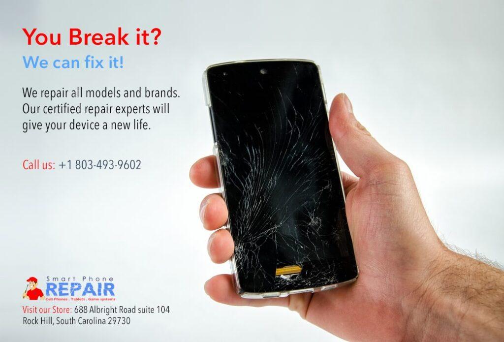 Broken Phone repairing in Rock Hill