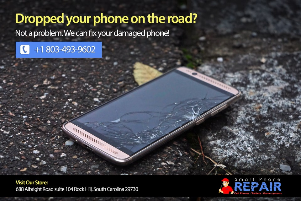 Dropped your phone on Road?
