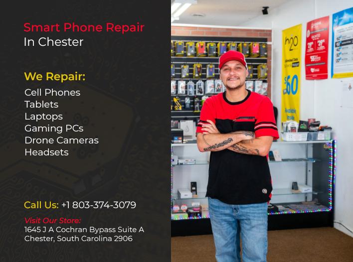 Smart Phone Repair in Chester